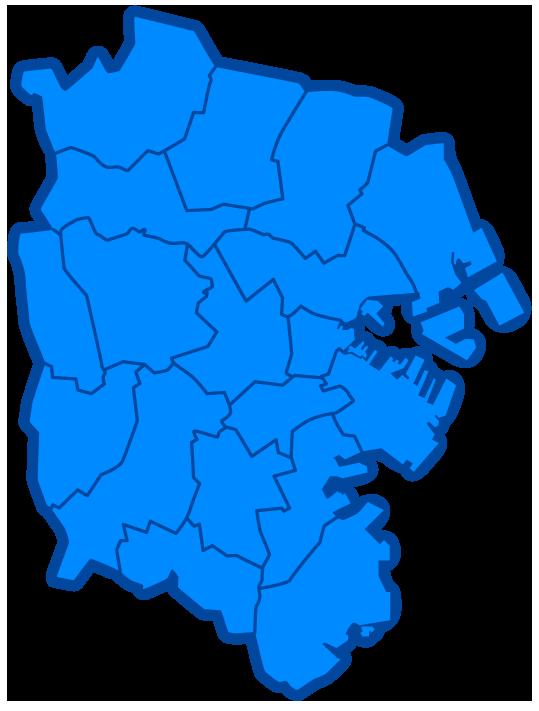 画像:横浜市地図