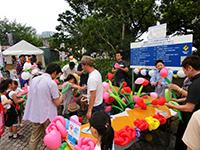【中区】100万本のバルーンフラワープロジェクト