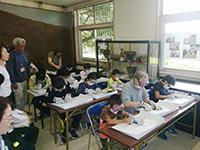 【磯子区】夏の石器作り体験教室